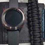 Samsung gear brazalete paracord, Samsung gear pulera paracord
