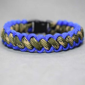Pulsera paracord Curling Millipede