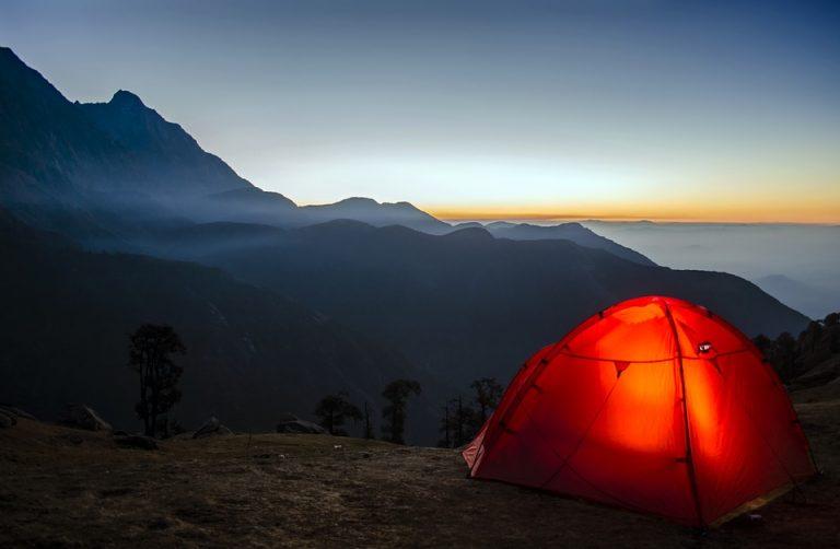 Consejos acampar en familia