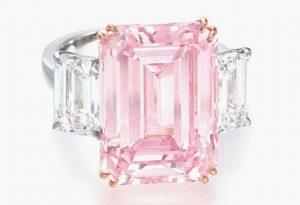 Anillo más caro del mundo- Anillo diamante rosado perfecto 2