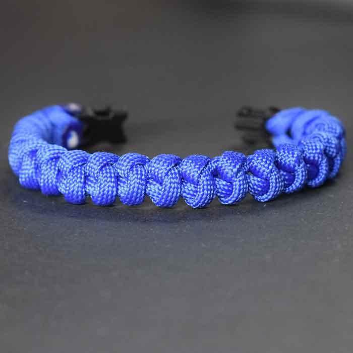 Como hacer un brazalete o pulsera paracord espina de serpiente o serpent spine knot