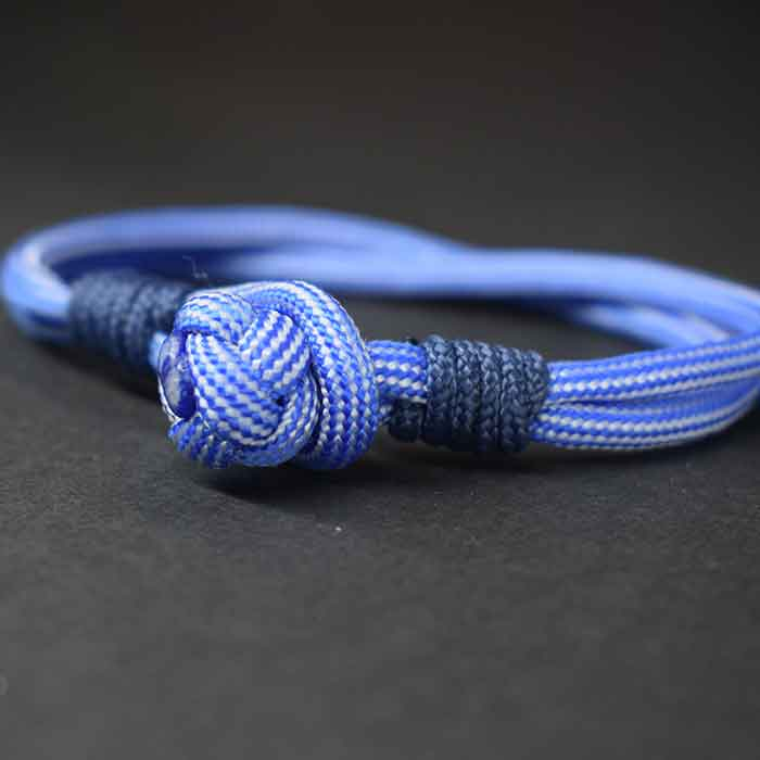 Pulsera paracord marinera nudo diamante