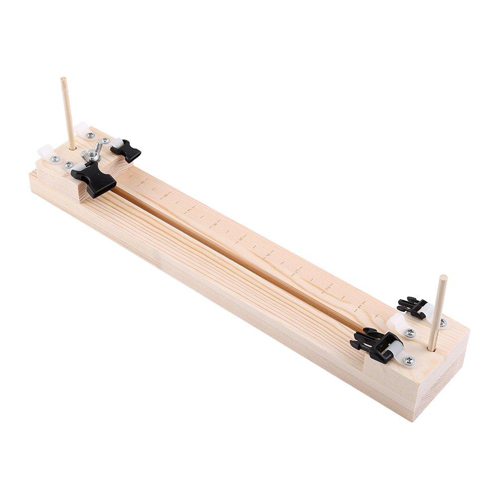Base paracord de madera